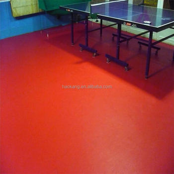 Best Quality Cloth Texsure Table Tennis Court PVC Flooring with Super Anti Skid Treatment