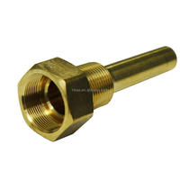 New CNC turning brass thermowell for temperature sensors OEM/ODM service China