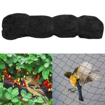 50' x 50' Anti Bird Netting For Bird Poultry Aviary Game Pens Soccer Baseball
