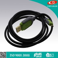 Factory Wholesale For Samsung Phone Android Phone Braided Micro USB Cable