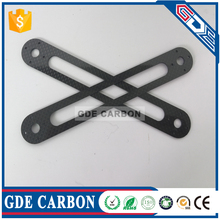 Factory Direct best quality OEM Custom made glossy matt carbon fiber cnc cutting motorcycle parts