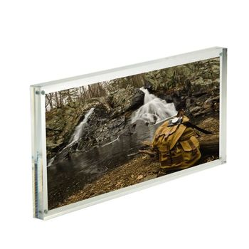 6x14'' Acrylic magnetic picture frame acrylic photo frame