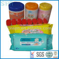 2014 in different packages oem skincare baby wipe