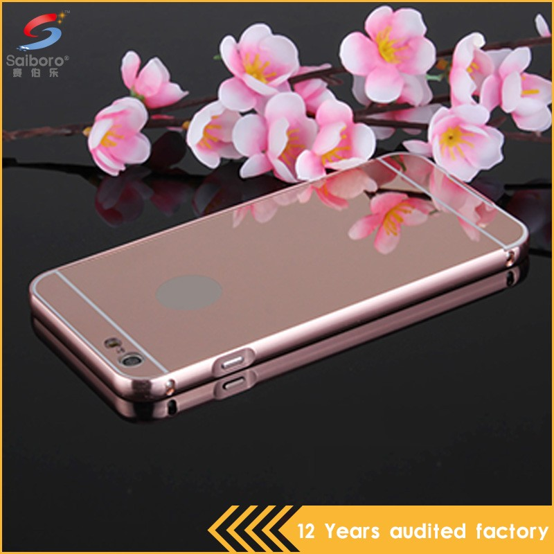 Wholesales creative shockproof for iphone 6s rose gold mobile phone case