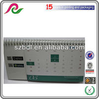 custom printable paper desk calendar 2013 with notepad