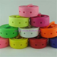 China Supplier Custom Design Silicone Woman Rubebr Belt