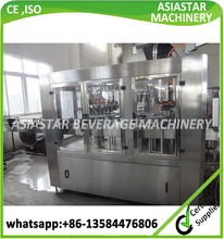CE approved automatic jar washer filler capper machine