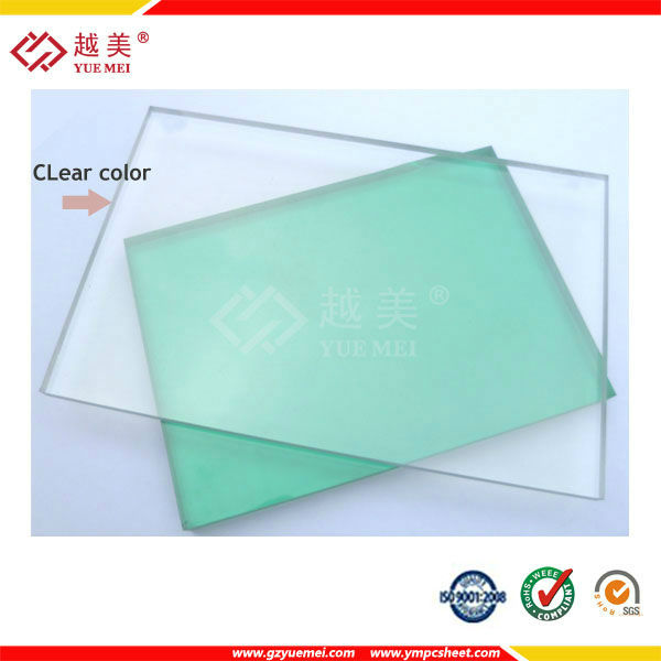 8mm 100% virgin bayer/ makrolon clear polycarbonate solid sheet for canopies materials