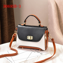 single flip small size hard pu leather shoulder tote bag for girl