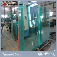 Tempered maximum thickness of glass