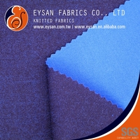 EYSAN Interlock Material 100 Polyester Double Knit Textile Fabric