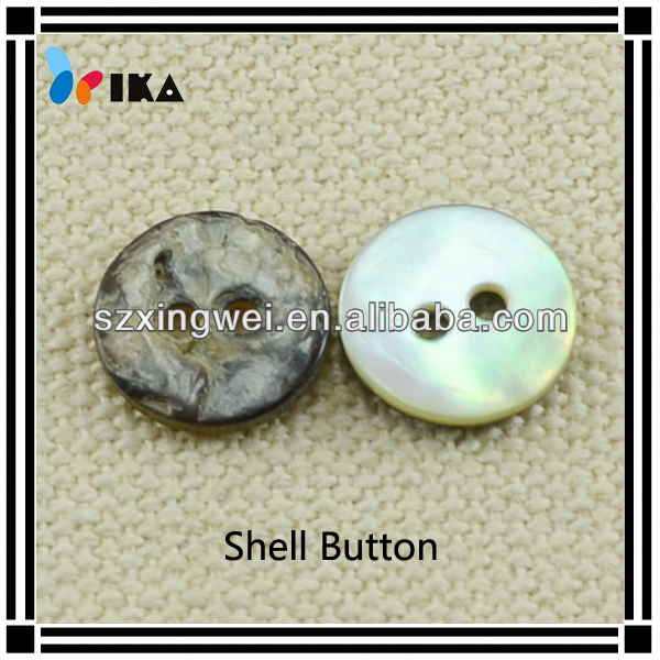 Natural mother of pearl akoya shell shirt buttons