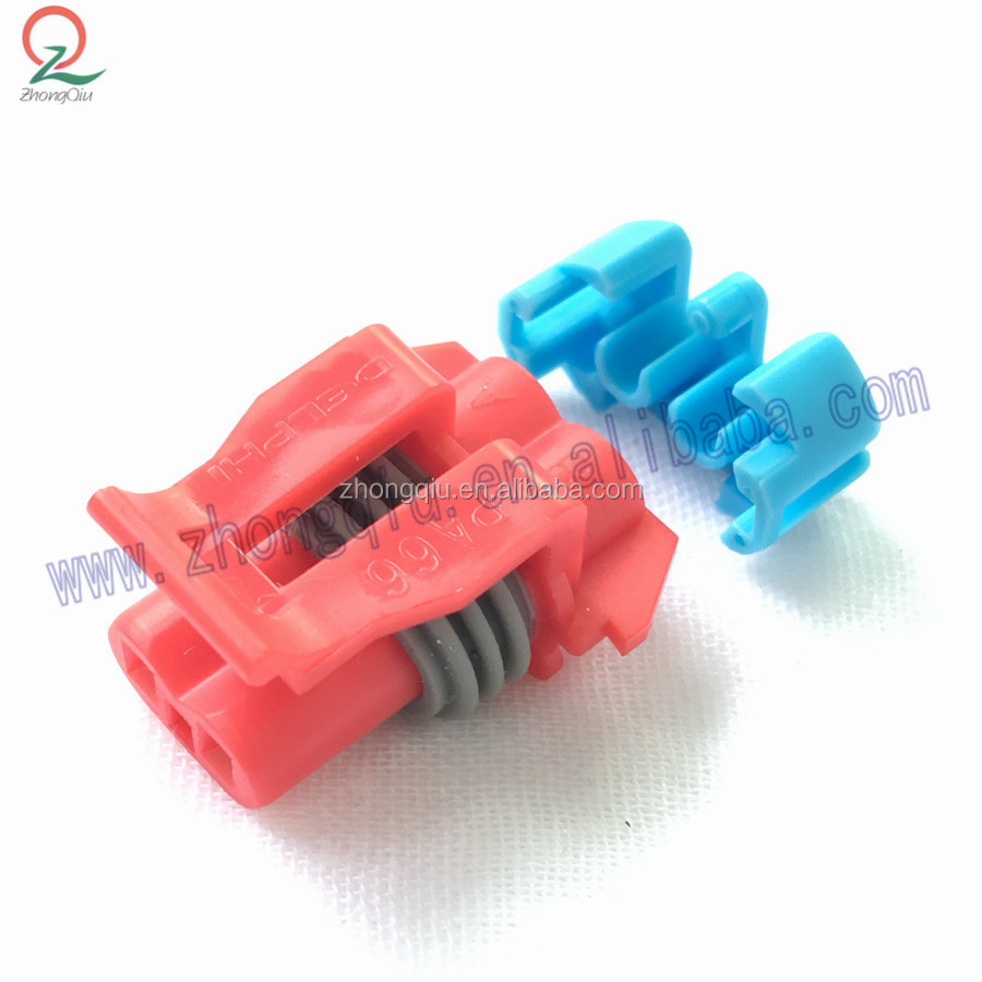 2pin female Delphi Pa66 Magnetic Cable board connector