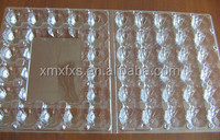 Clear 30 pack eggs packing blister tray