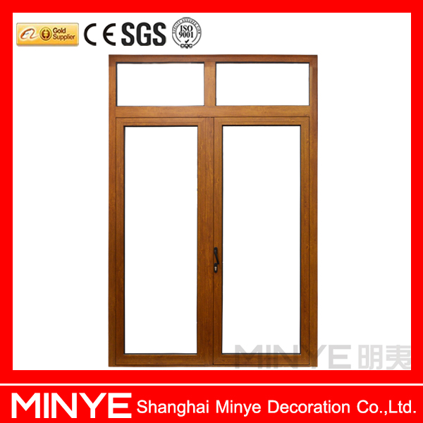 New product 2017 powder coating white color aluminum door and window