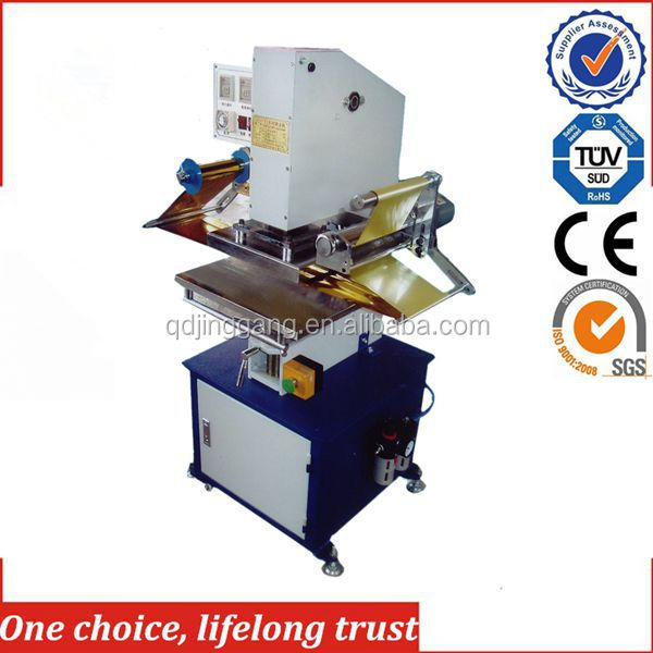 TJ-9 New Style security seal sticker hot foil stamping machine