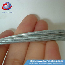 hot dipped galvanized steel wire strands for communication cables