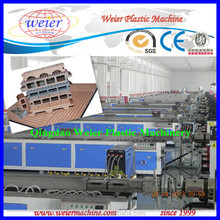 WPC Wood Plastic Composite Extrusion Machine With Embossing