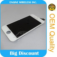 Mobile Phone Repair Tested Working Grade A LCD for iphone 5 back glass