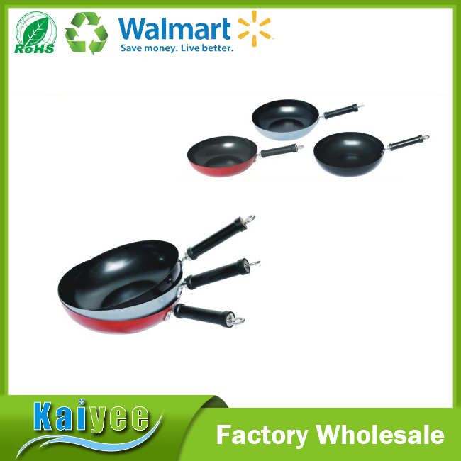 High quality eco-friendly non stick cookware wok