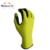 15 guage fluorescent nylon knitted with microfine foam nitrile coated, fingertip nitrile double coated