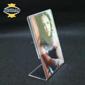 JINBAO Transparent apple shape acrylic magnet photo frame