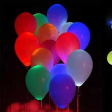 2017 hot sale standard wedding Decorations 12 inch flashing led balloon lights