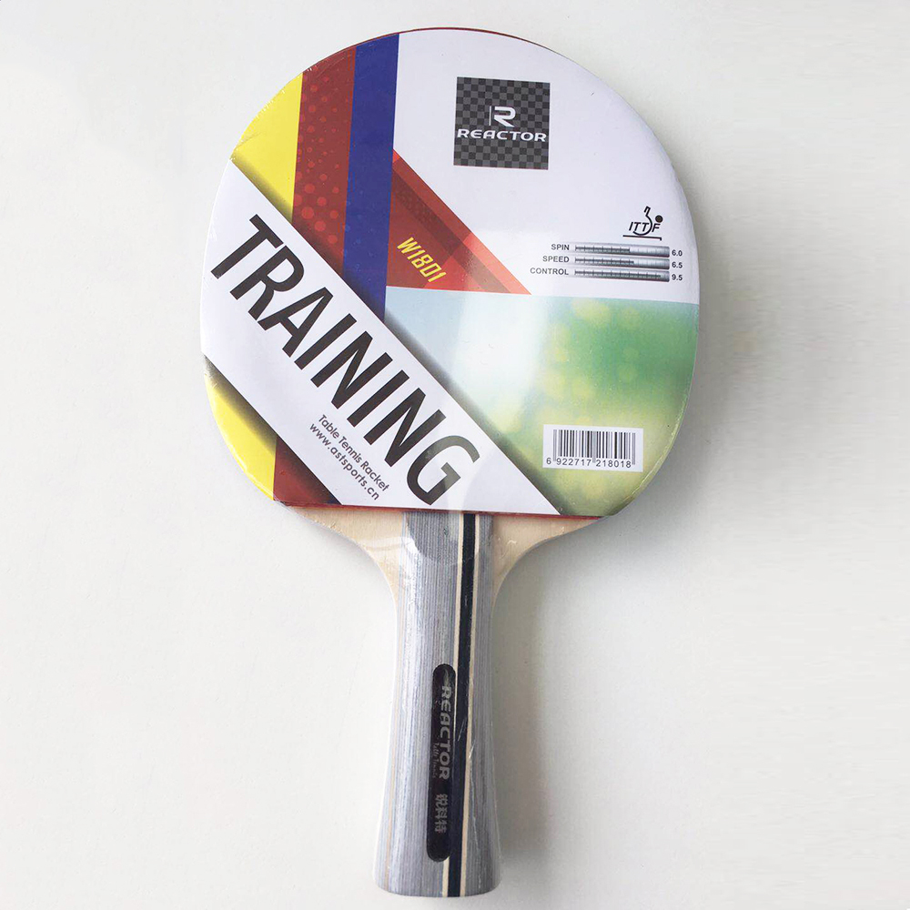 New design Reactor One star Table Tennis Racket Paddle