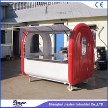 JX-FR220E New model Manufacturer potato kiosk French fries booth Fast food kiosk for sale/mobile food carts
