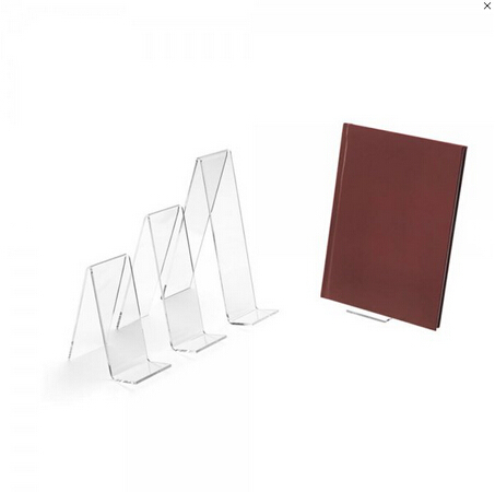 Acrylic book display stand, acrylic book easel, acrylic pos accessories