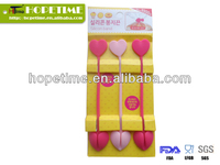 LFGB standard lovely silicone food strip/strings
