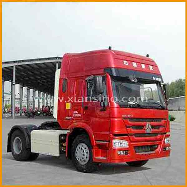 China widely used HOWO 4x2 tractor truck with stronger materials