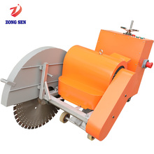 ZongSen 18.5KW Road Cutter Electric Powered Rock Asphalt Concrete Road Cutting Saw Machine
