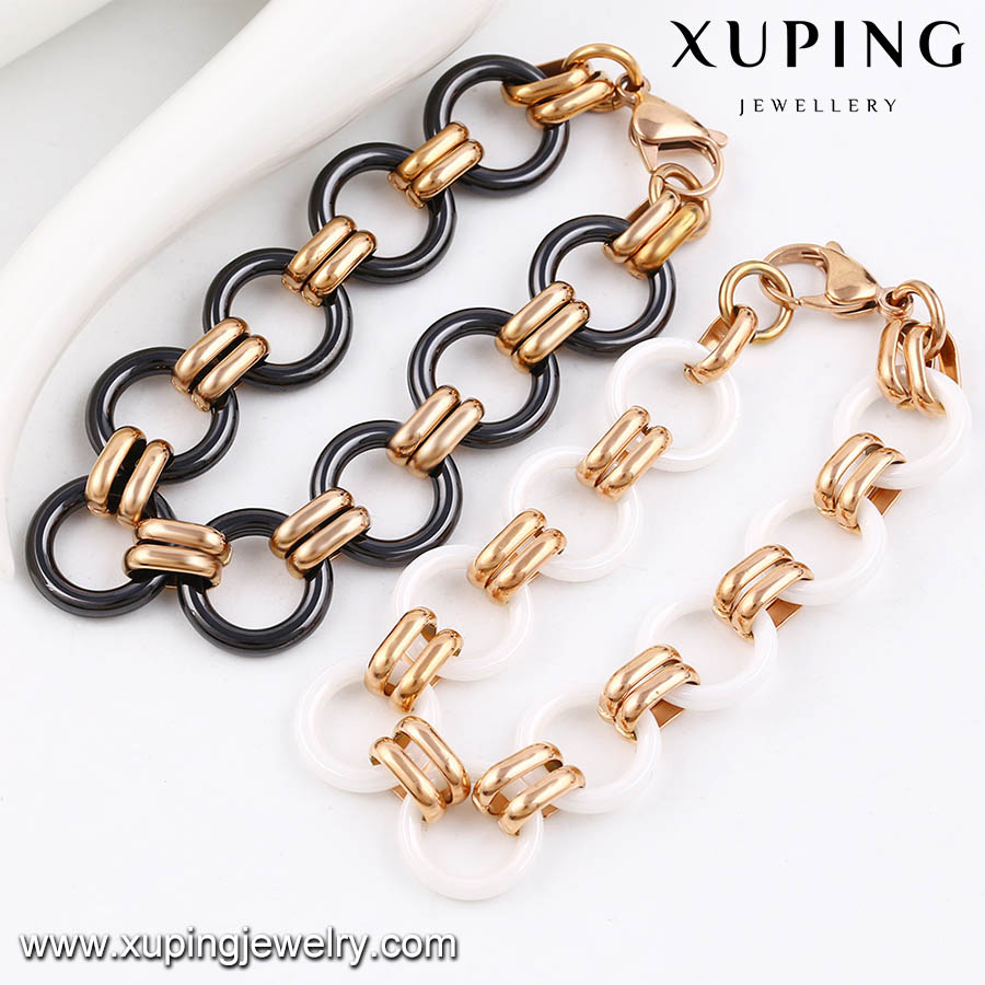 74459-xuping fashion gold plated beaded bracelets