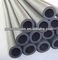 fire-retardant closed cell rubber foam insulation tube,heat resistant foam rubber pipe for air conditioning