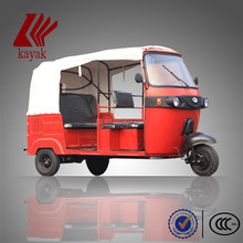 High quality Bajaj auto rickshaw model KN175ZK passenger tricycle best 3-wheeler in China
