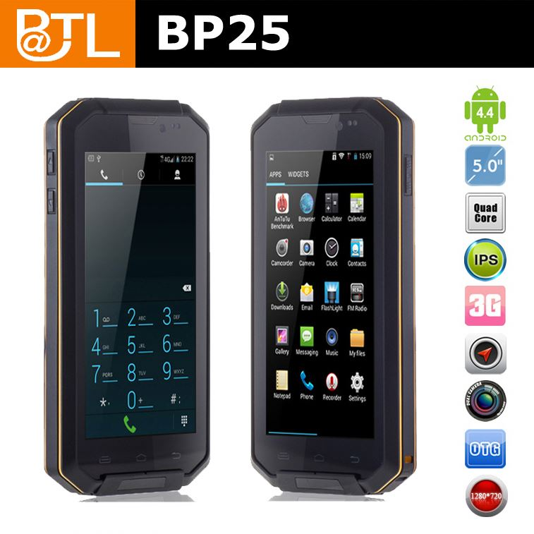 BATL BP25 WDF1392 5inch HD display android rugged mobile phone have scanner barcode for warehouse use