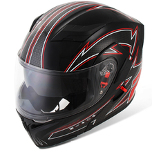 Adult Double Lens Full Face Motorcycle Helmet