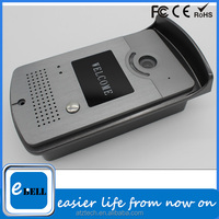 No matter where you are, you can watch and control your door with mobile wireless ip video door phone