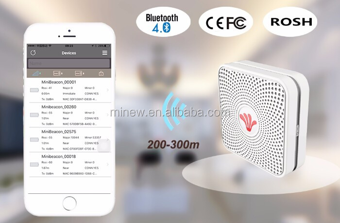 nrf 51822 ble 4 0 eddystone beacon waterproof low energy bluetooth 4 0 10 years battery