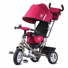 2017 Factory Wholesale Small Kids Double Seat Baby Tricycle