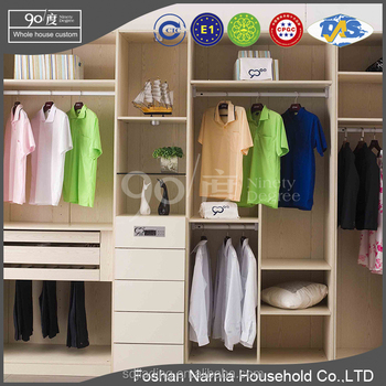 Standard Door Size Hanging Organizer Closet with Closet Lights