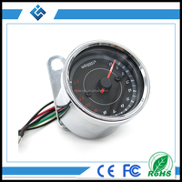 Wholesale 12V Motorcycle Blue LCD Backlight Inductance Tachometer