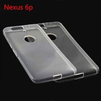 New Arrival Clear Crystal Soft TPU Gel Mobile Phone Case Cover For Huawei Nexus 6p