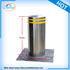 Stainless Steel Hydraulic Lighting Bollard for Security, Parking, Safety Roadway