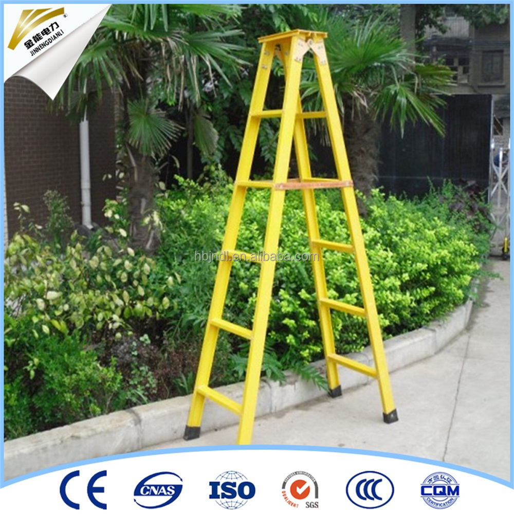 Fiberglass Step Insulated Ladders
