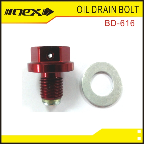 Drain Engine Oil Reinstall Drain Bolt