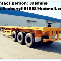 For Container Machine Engine Transport Flatbed