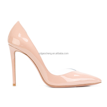 Ladies heel shoes 2018 high quality fashion design genuine leather women shoes high heels
