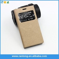 Best selling OEM design leather stand phone case for iphone 5c fast shipping